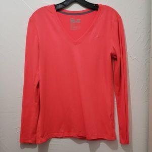 Nike Longsleeve V-Neck Dri Fit Shirt